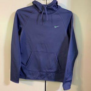 Nike purple dust jade Therma-FIT hoodie XS NWT